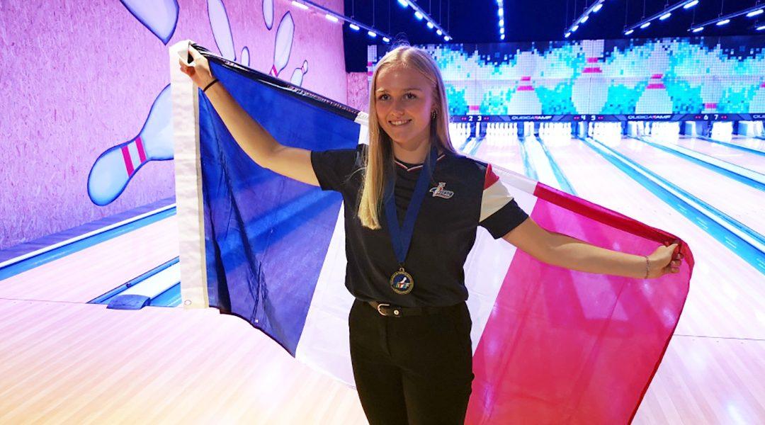 Emma FRIAND : médaille de bronze aux championnats d'Europe Jeunes