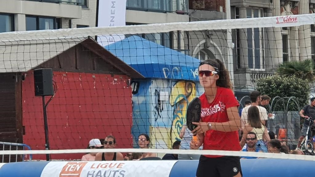 Lola BARRAU : vice-championne de France de Beach Tennis
